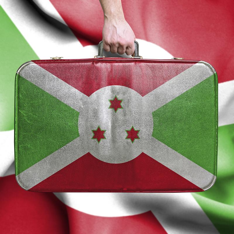 Reis naar Burundi royalty-vrije stock foto