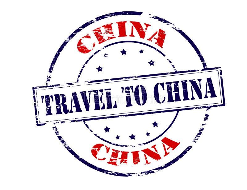 Reis naar China royalty-vrije stock afbeelding