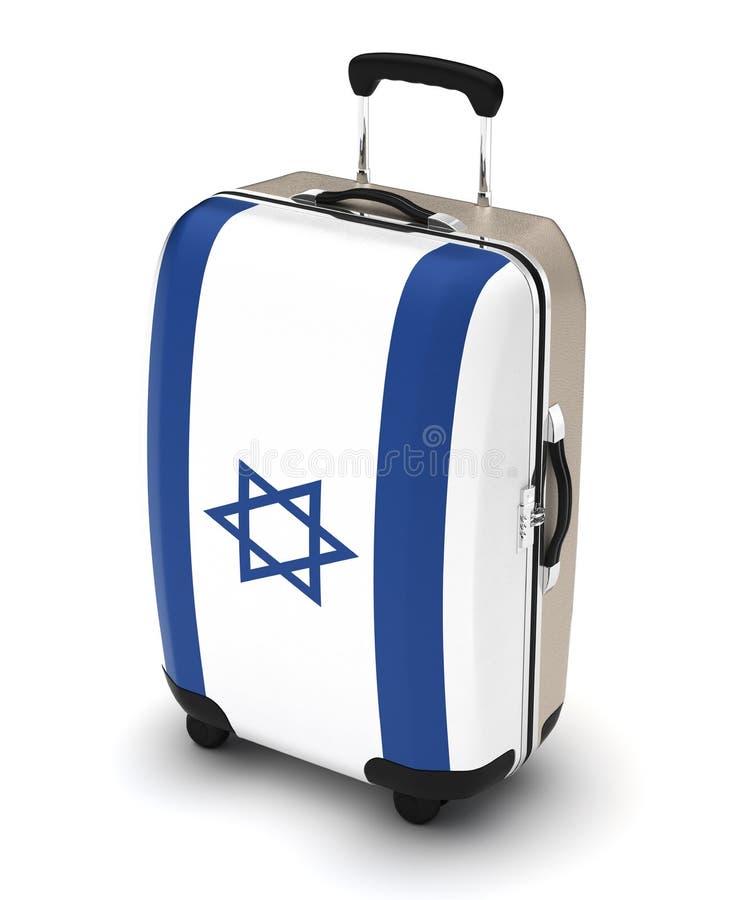 Reis naar Israël vector illustratie