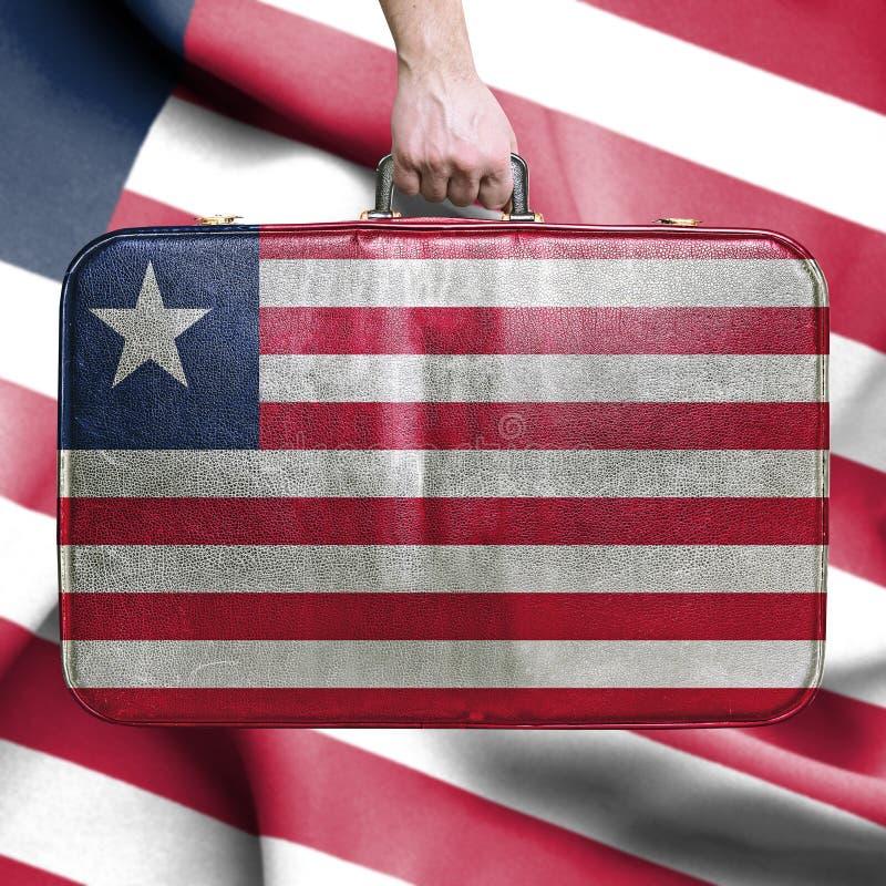 Reis naar Liberia royalty-vrije stock afbeelding