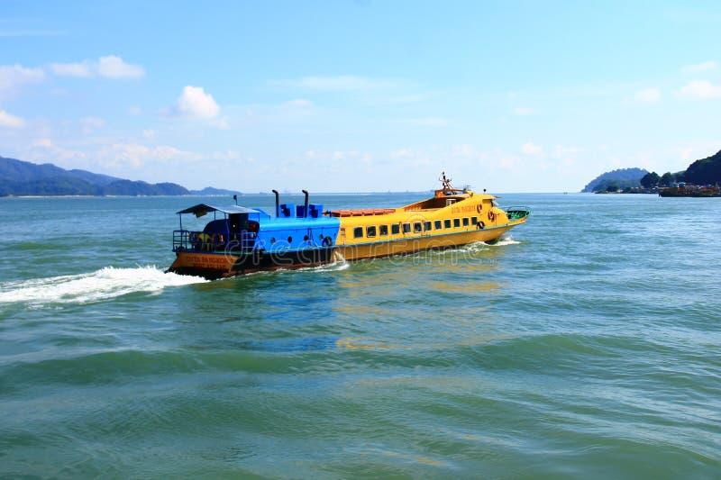 Reis naar Pulau Pangkor, Maleisië stock afbeeldingen