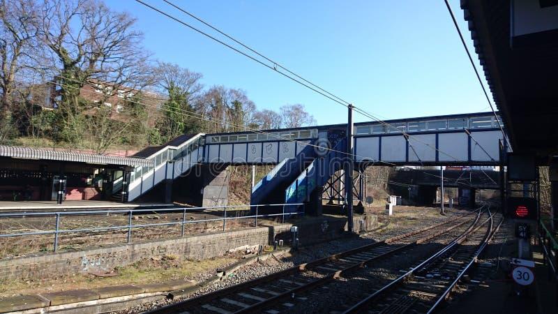 Reis Norton Train Station no amanhecer imagem de stock royalty free
