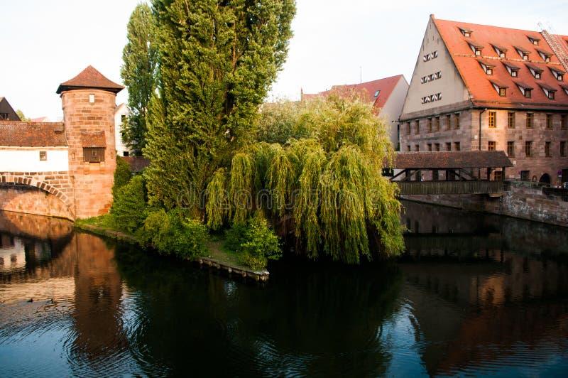 Reis Nuernberg Beieren Duitsland stock fotografie