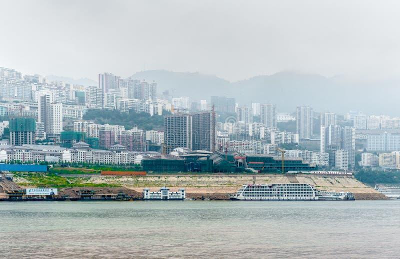 Reis op de Rivier Yangtze stock foto