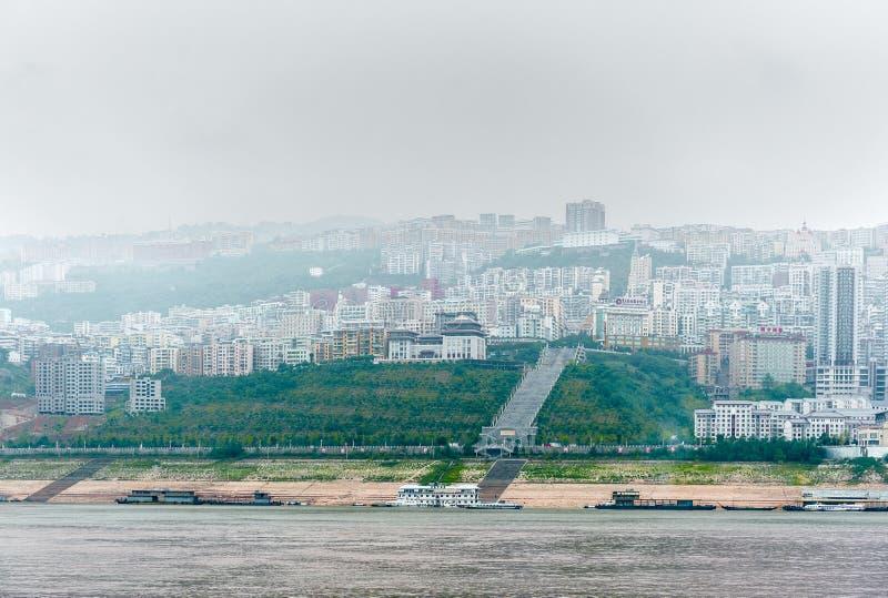 Reis op de Rivier Yangtze stock afbeelding
