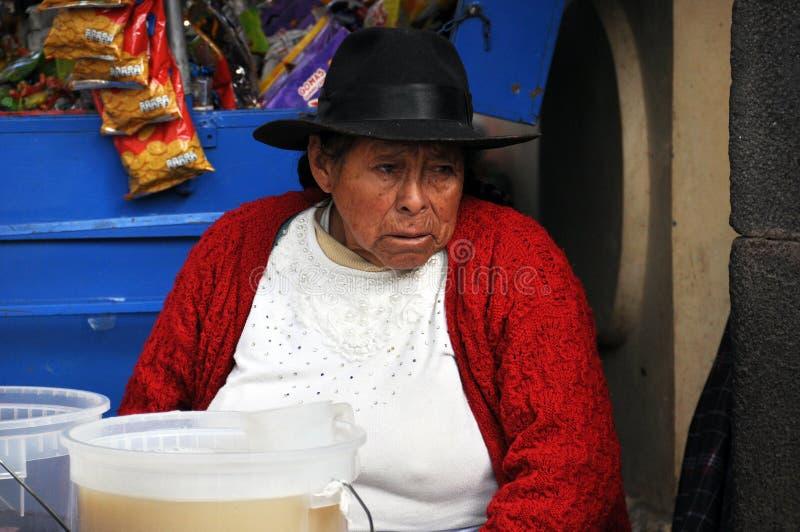 Reis Peru Lima en cusco en markten stock afbeelding