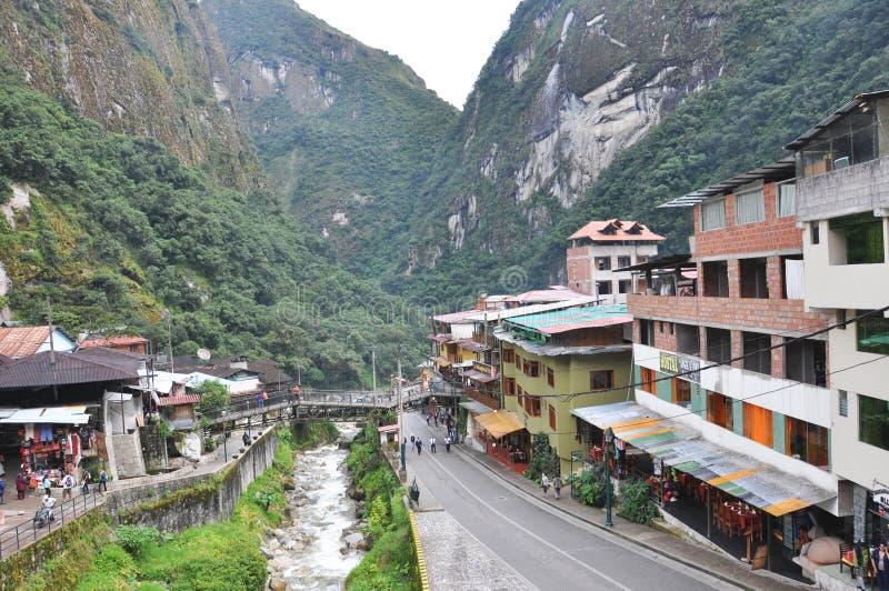 Reis Peru Lima en cusco en markten stock fotografie