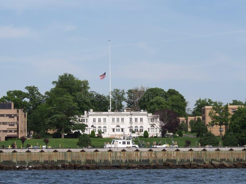 Reis Ponto Comerciante Marine Academy fotografia de stock royalty free