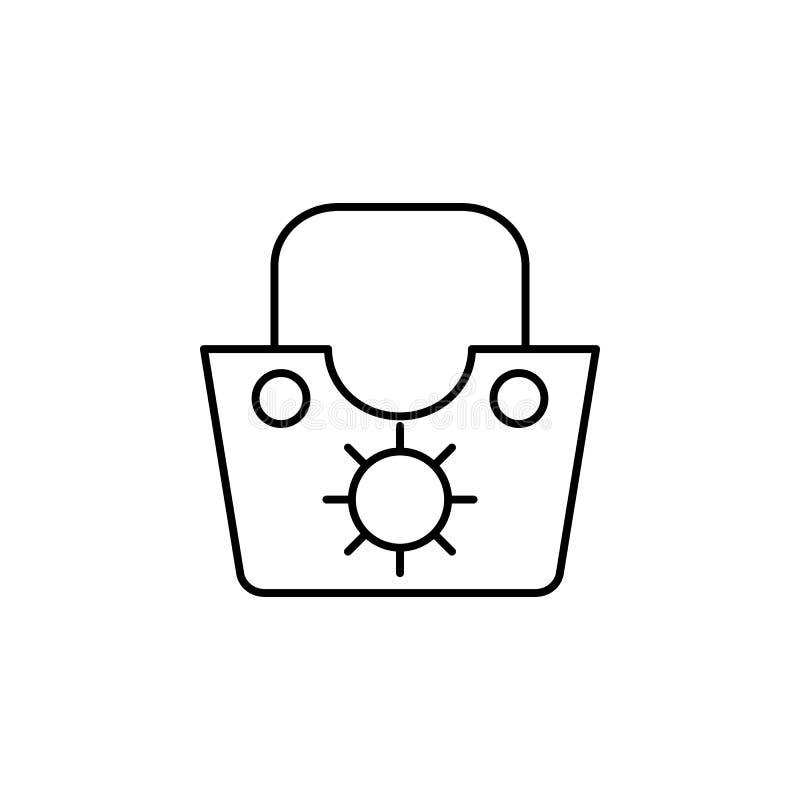 Reis, ruimte, voedsel, het pictogram van het de dienstoverzicht Element van reisillustratie Tekens en symbolen het pictogram kan  royalty-vrije illustratie