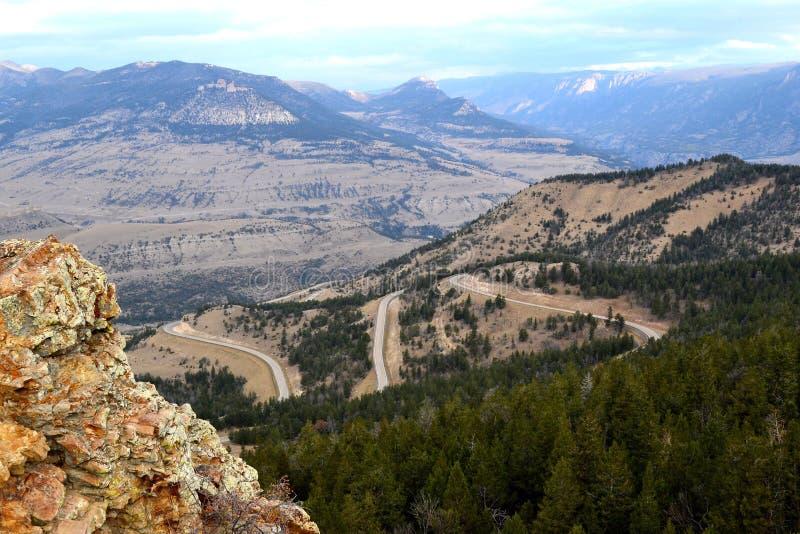 Reis Wyoming stock afbeeldingen