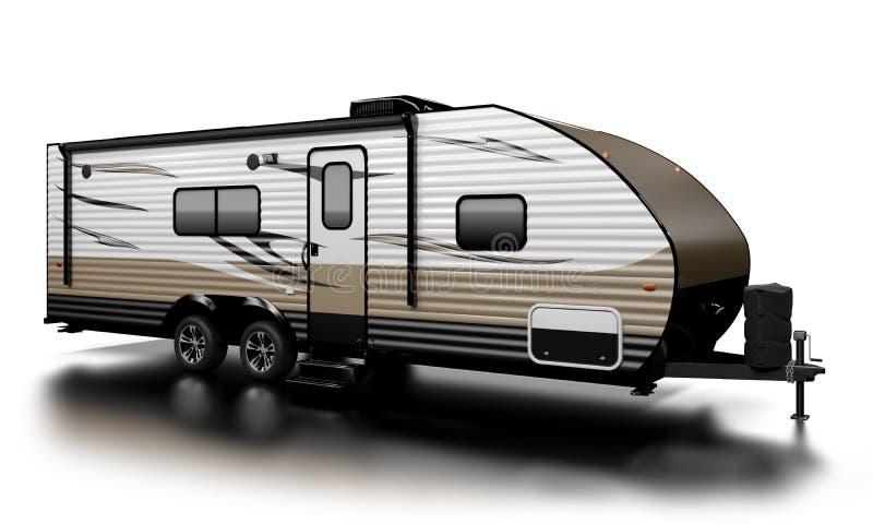 Reisaanhangwagen vector illustratie