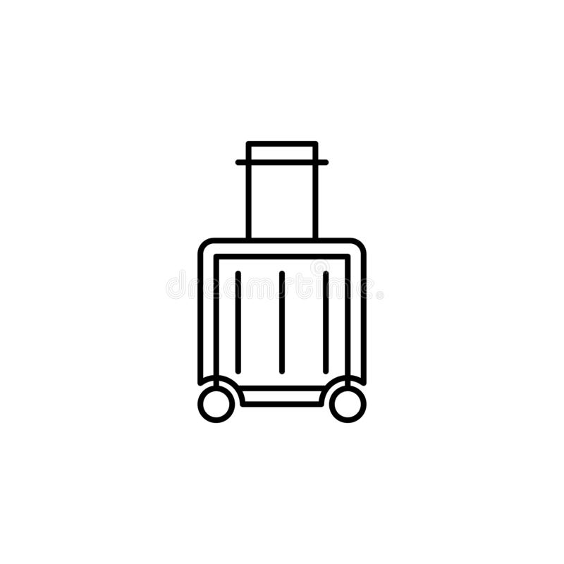 Reise Analytics-Entwurfsikone Elemente der Reiseillustrationsikone Zeichen und Symbole k?nnen f?r Netz, Logo, mobiler App, UI ver vektor abbildung