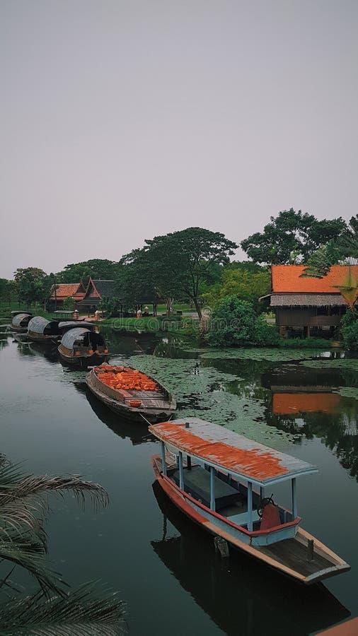 Reise Asien, Bangkok, Tempel und alte Gebäude, Muang Boran, alte Stadt, Nahaufnahme stockbild
