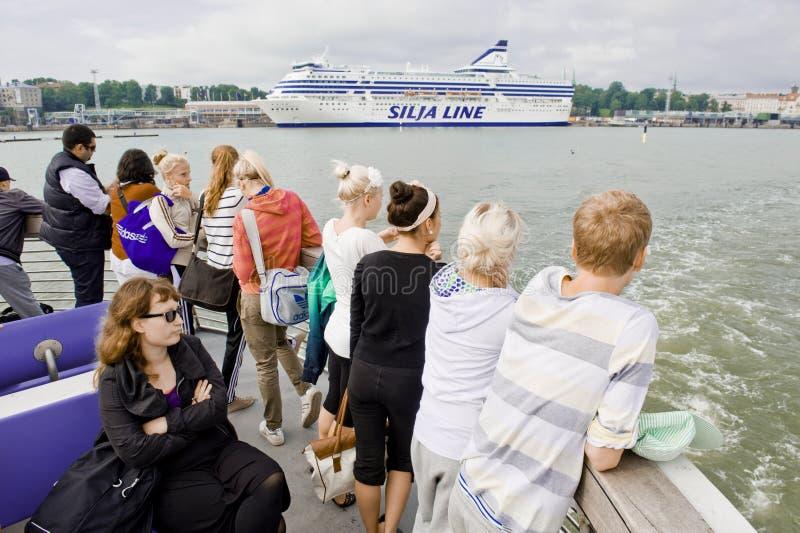 Reise des touristischen Bootes stockfotos