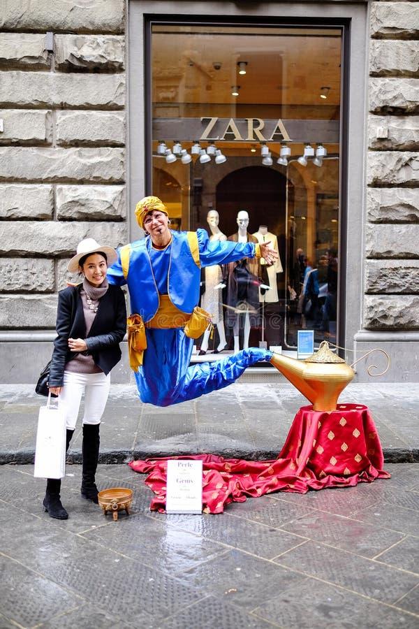 Reise Europa - Florenz, Italien stockfoto