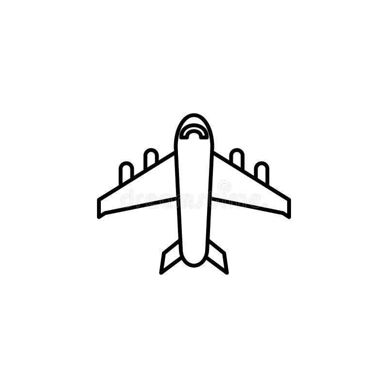Reise, Hotelentwurfsikone Element der Reiseillustration Zeichen und Symbolikone können für Netz, Logo, mobiler App, UI, UX benutz vektor abbildung