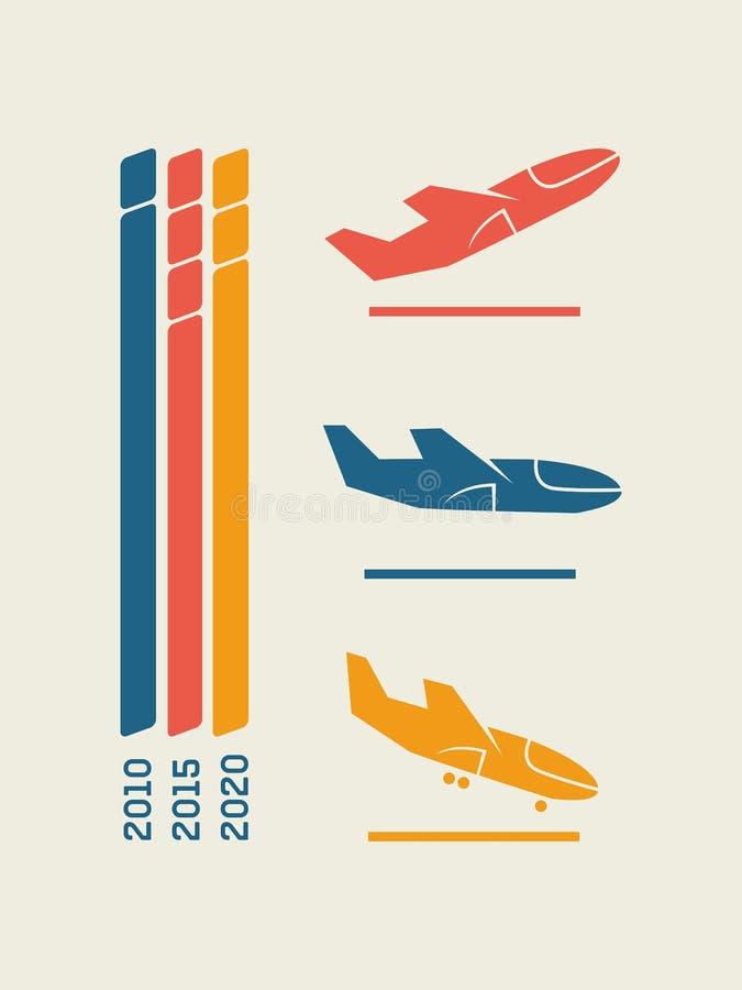 Reise Infographic-Element vektor abbildung