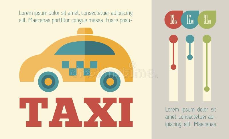 Reise Infographic-Element lizenzfreie abbildung