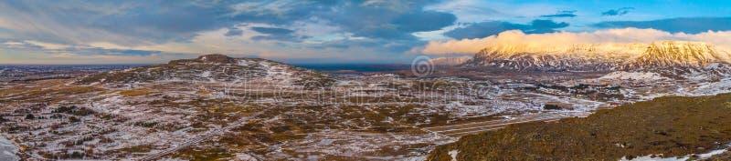 Reise nach fabelhaftes Island stockfotos