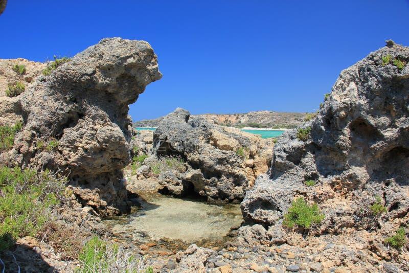 Reise, Natur, Griechenland, Kreta, Elafonisi, lizenzfreies stockfoto