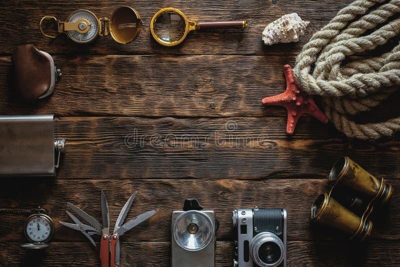 Reise- oder Abenteuerhintergrund lizenzfreies stockfoto