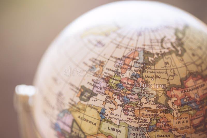 Reise: Schließen Sie oben von einer Kugel lizenzfreie stockbilder