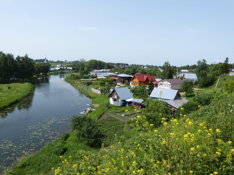 Reise in Suzdal stockfotos