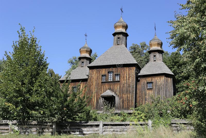 Reise Ukraine-Museum Pirogovo Kyiv lizenzfreie stockfotografie