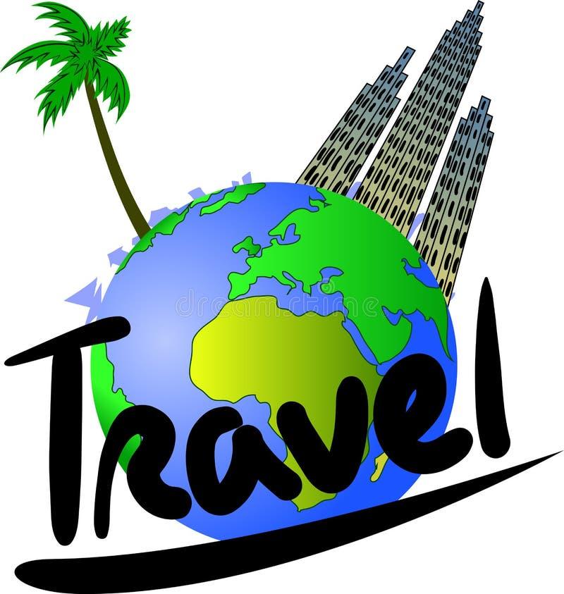 Reise und Tourismus lizenzfreie abbildung