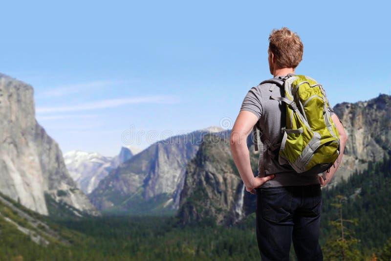 Reise in Yosemite-Park lizenzfreies stockbild