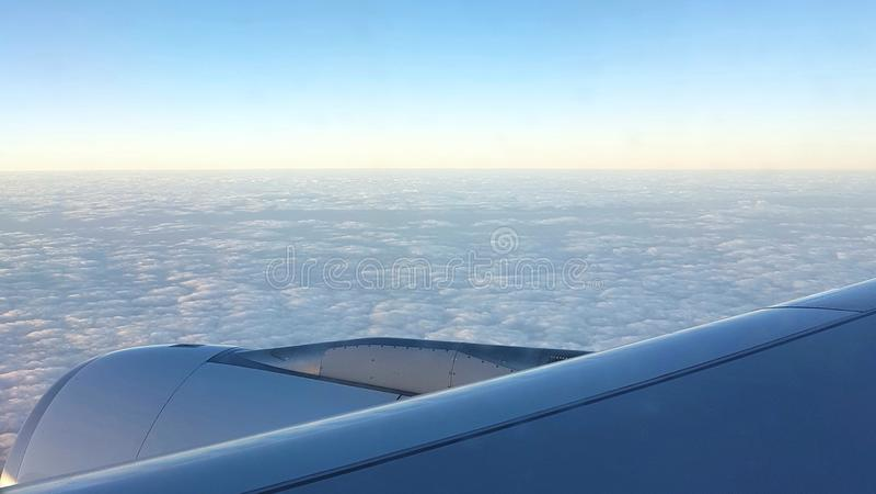 Reise zum Himmel lizenzfreie stockfotos
