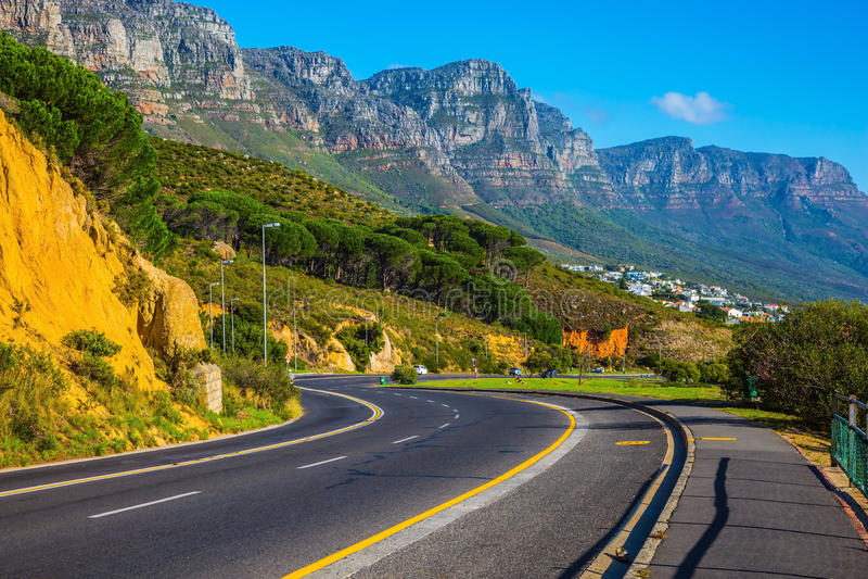 Reise zum Kap der Guten Hoffnung stockfotografie