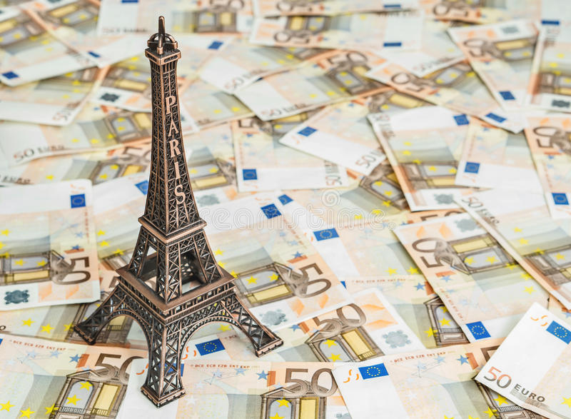 Reisebudget zu Europa stockbilder