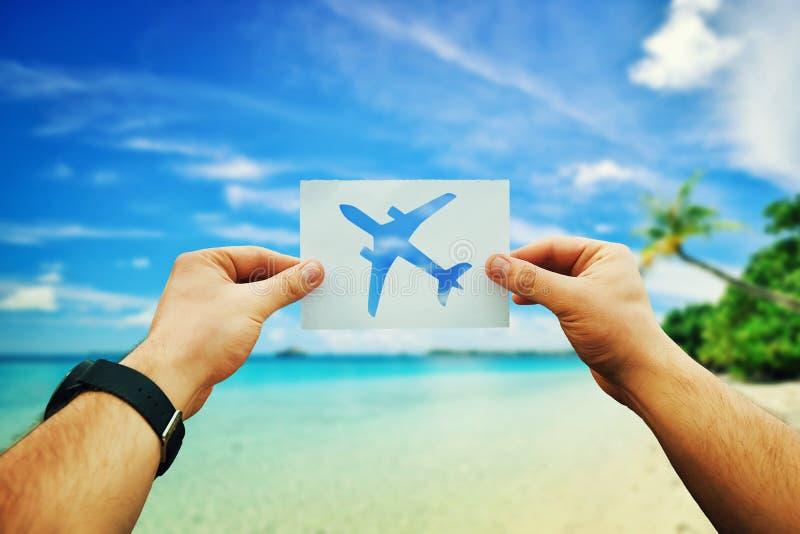 Reiseflug lizenzfreie stockfotografie