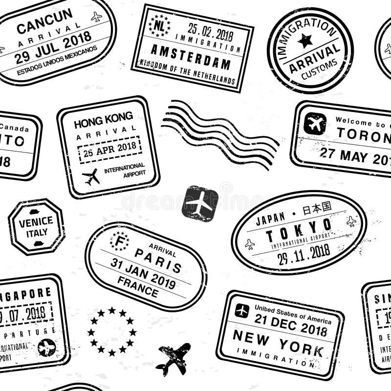 Reiseikonen eingestellt lizenzfreie abbildung