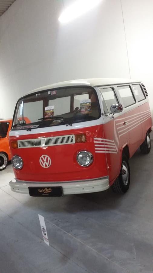Reisemobilbus VW Volkswagen stockfotos