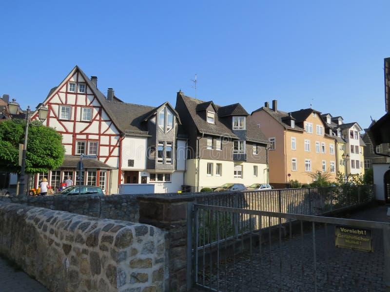 Reisen in Deutschland Die Stadt von Wetzlar lizenzfreies stockfoto