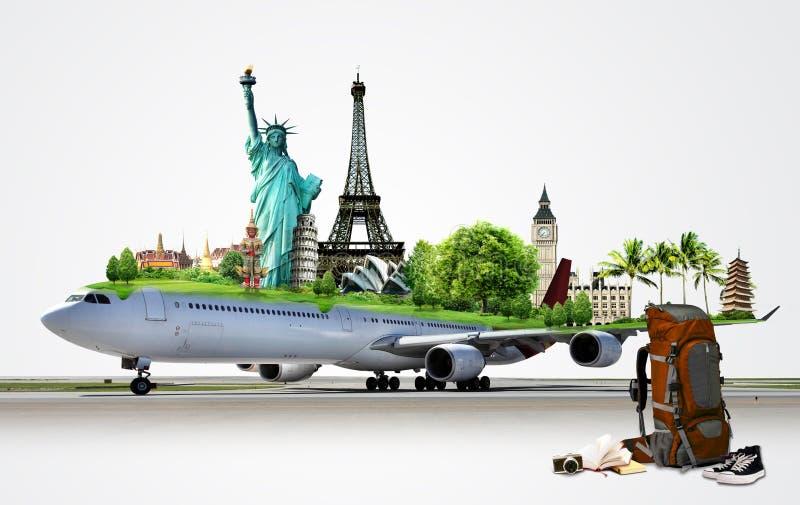 Reisen die Welt stockfoto
