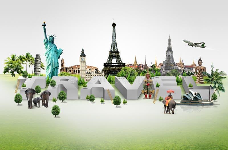 Reisen die Welt lizenzfreie stockbilder