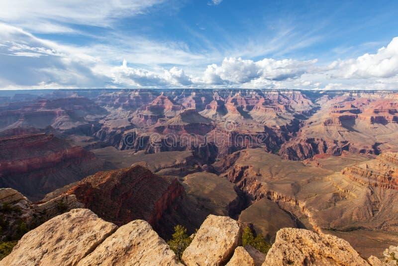 Reisen Sie in Grand Canyon, szenische Ansichtpanoramalandschaft, Arizona, USA stockbild