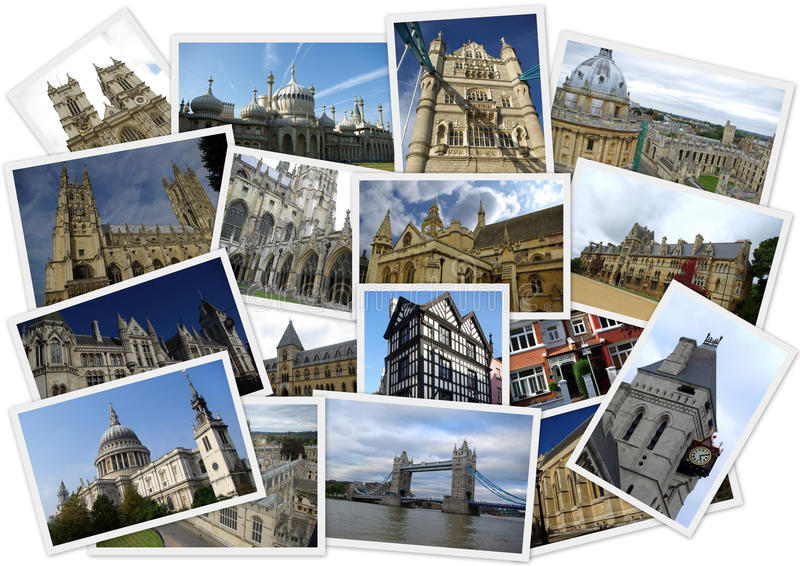 Reisen um England lizenzfreies stockbild