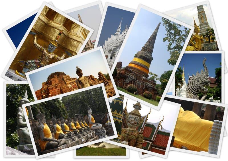 Reisen um Thailand stockbild
