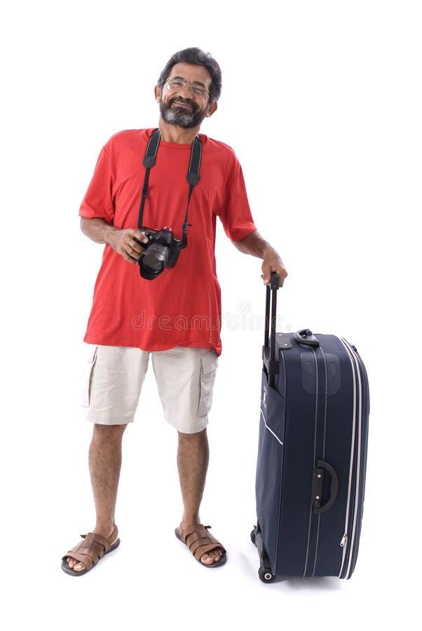 Reisender stockbild