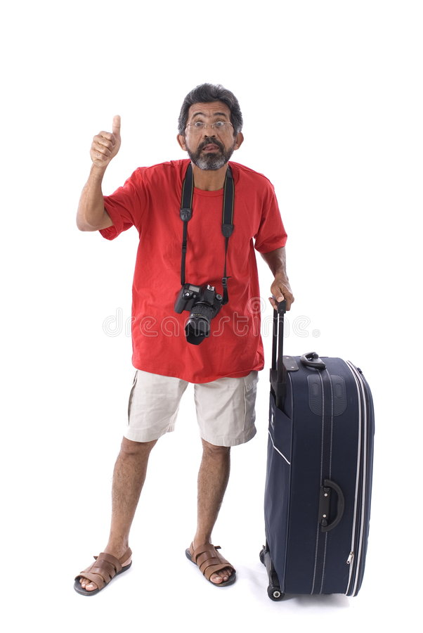 Reisender lizenzfreies stockfoto