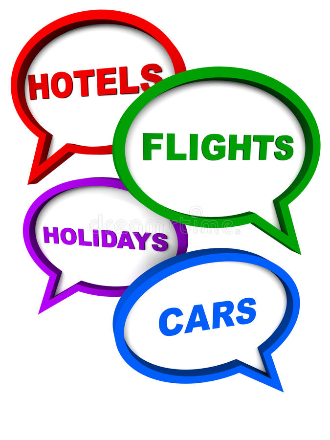 Reisendienstleistungen stock abbildung