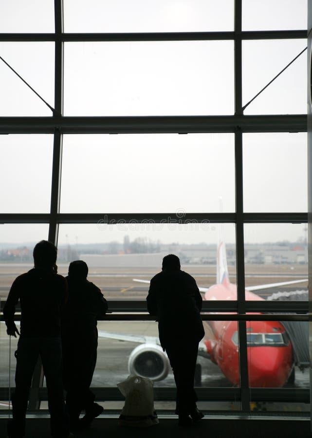 Reisenflughafen lizenzfreie stockfotos