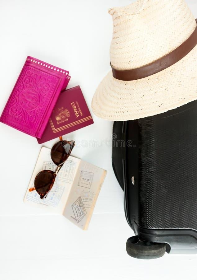 Reisesachen lizenzfreies stockfoto
