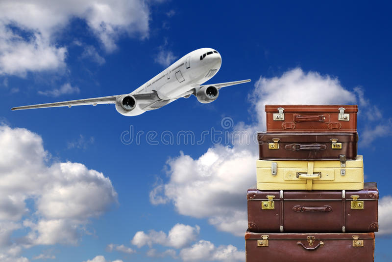 Reisetaschen stockbilder