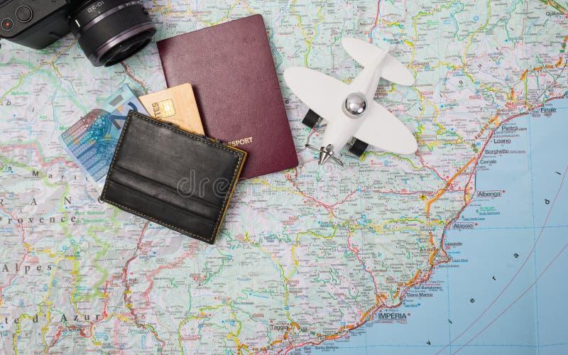 Reisevorbereitung stockfoto
