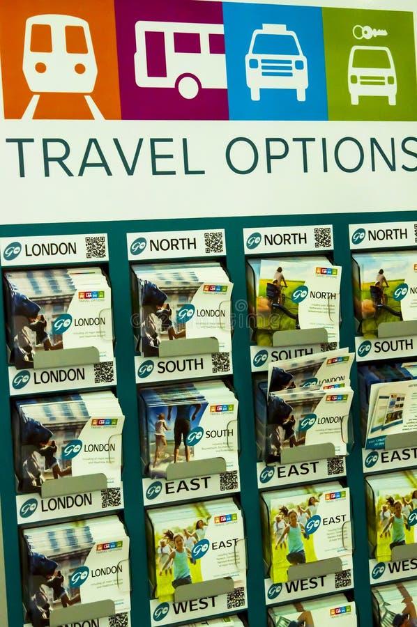 Reisewahlstand stockbild